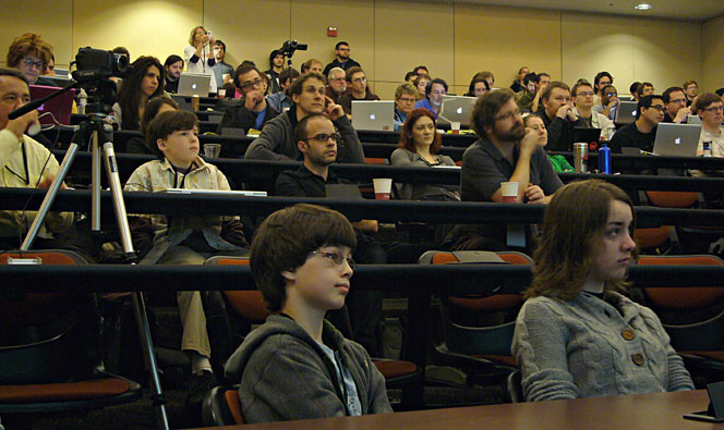 ART AND CODE symposium attendees