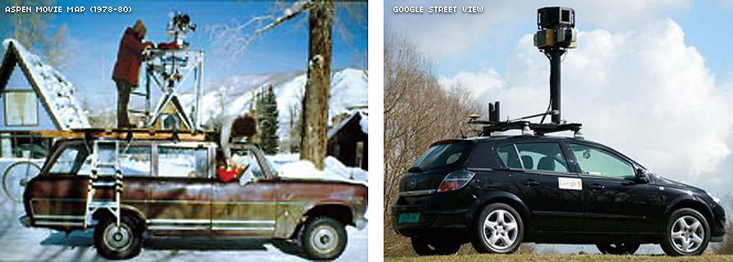 Aspen Movie Map and Google Street View
