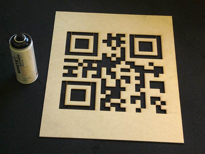 The QR_STENCILER loads QR code image files, and exports vector-based PDF stencils.